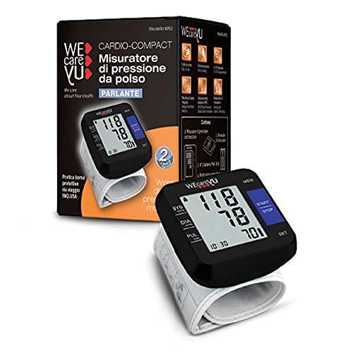 WeCareYu Misuratore di pressione da Polso parlante Cardio Compact