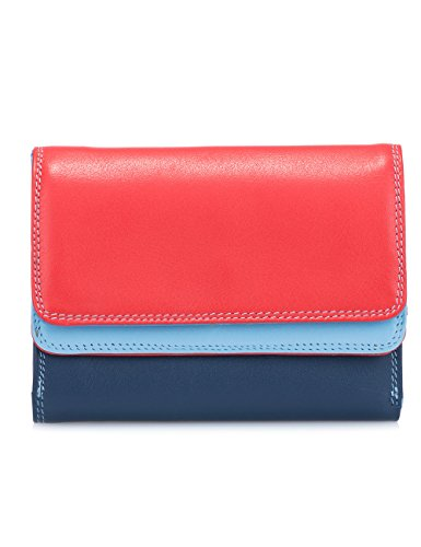 Mywalit - leder damen Geldbörse - double flap purse - 250-127 - Royal