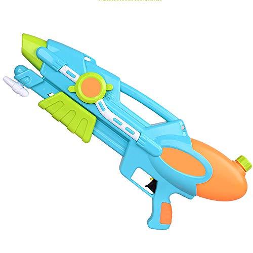 Fired las pistolas de agua Bomba de agua de la botella de dos maneras Doble pulverizador individual interactivo al aire libre pistola de agua for niños de verano de la playa pistola de juguete de gran