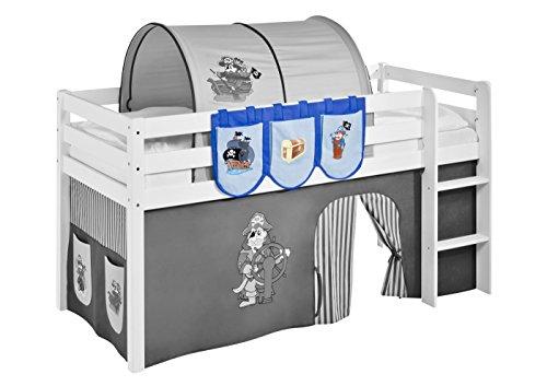 Lilokids Hängetaschen Pirat Blau - für Hochbett, Spielbett und Etagenbett