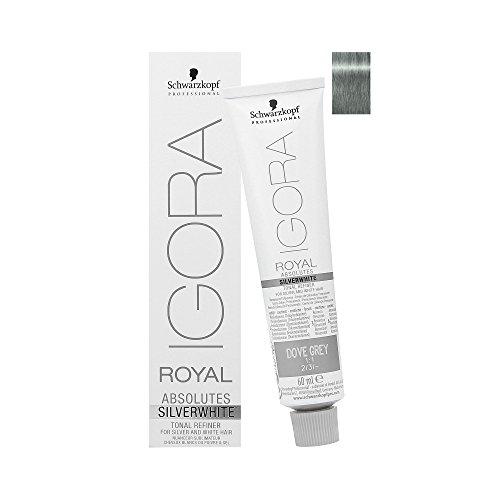 Schwarzkopf Igora Royal Absolutes SILVERWHITE Tonal Refiner (Dove Grey) by Schwarzkopf