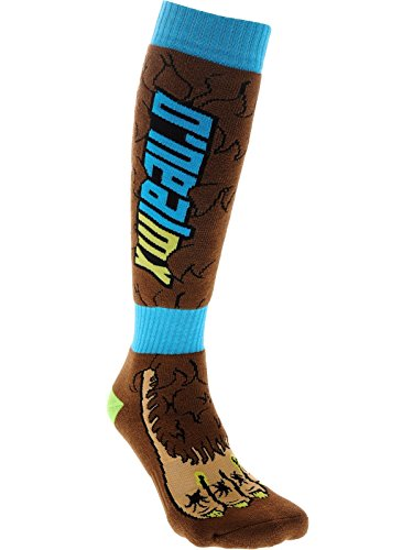O'Neill Wetsuits Oneal Bigfoot Pro Mx - Calcetines para mujer, color marrón, azul/verde/negro, talla única