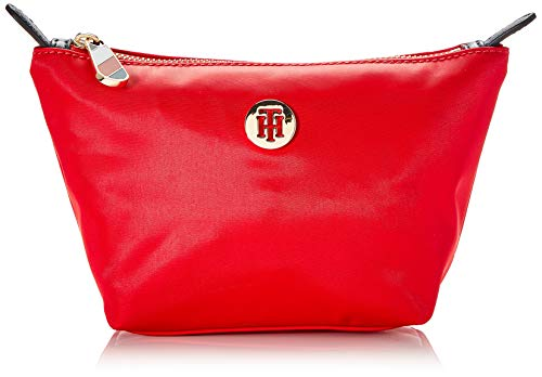 Tommy Hilfiger - Poppy Make Up Bag, Organizadores de bolso Mujer, Rojo (Barbados Cherry), 1x1x1 cm (W x H L)