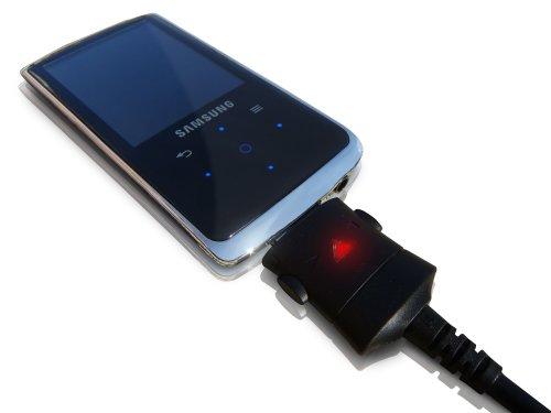 ABC Products® MP3 MP4 Player USB Sync-/ Ladekabel Kabel für Samsung Yepp YP-E10, YP-K3, YP-K3J, YP-K5, YP-K5J, YP-P2, YP-P3, YP-Q1, YP-Q2, YP-R1, YP-S3, YP-S5, YP-T8A, YP-T9, YP-T10, YP-U10 etc