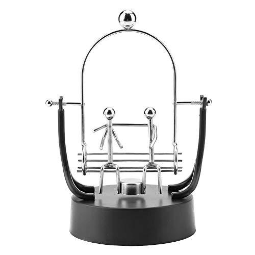 Shake Wiggle Device Automatische Swing Perpetual Motion Modell Elektronische Swing Kinetic Art Craft Dekoration Edelstahl Schaukeln Skulptur Modell