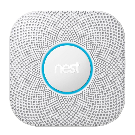 Nest Protect Wired Smoke and Carbon Monoxide Detector-S3003LWES - The Home Depot
