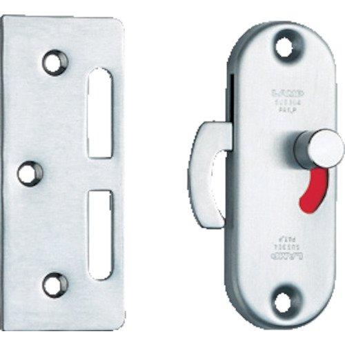 スガツネ工業 ランプ印 ステンレス鋼製引戸面付カマ錠 (室内側表示付) HC-85SS