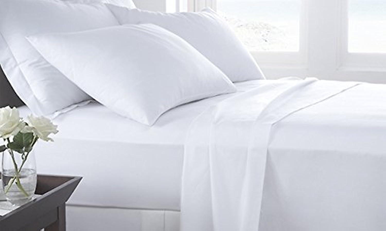 Dreamz 300 fils Living Lit poche (Profondeur    21 cm Euro simple, plus solide-Blanc 100%  coton égypcravaten