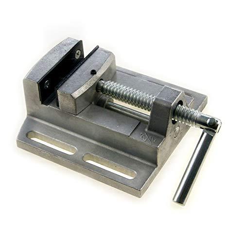 SP10008008 2.5' Mini Pillar Drill Press Vice Milling Workshop Dual Jaw Aluminium