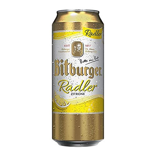 2 x Bitburger Radler 24x0,5L = 48 Dosen...