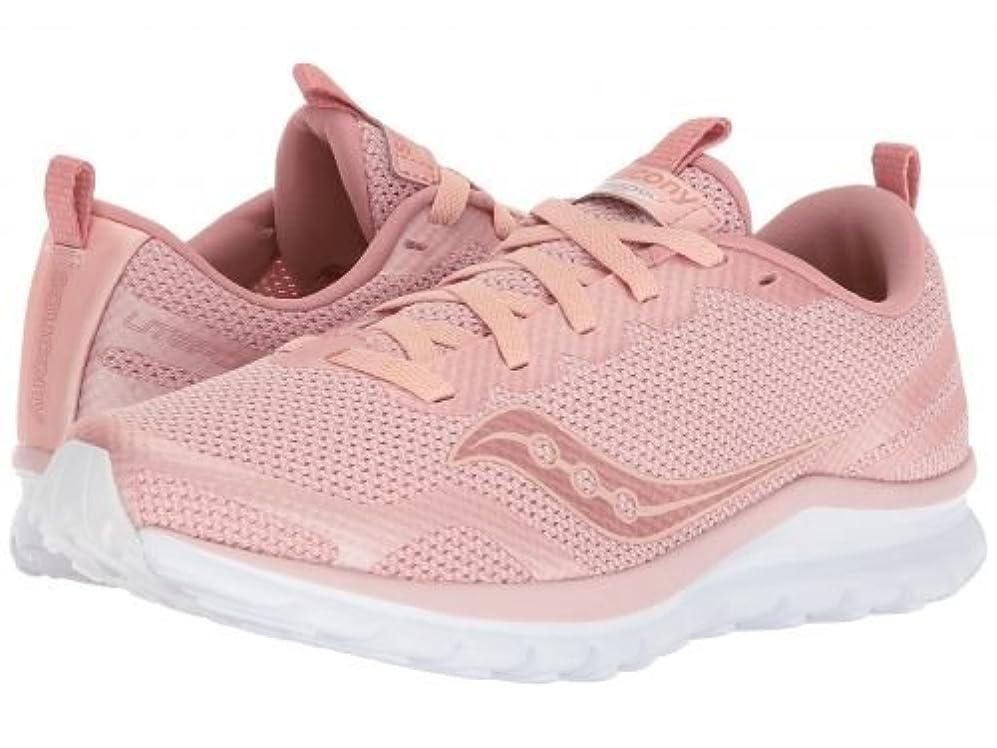 抽象ベルト指紋Saucony(サッカニー) レディース 女性用 シューズ 靴 スニーカー 運動靴 Liteform Feel - Blush [並行輸入品]