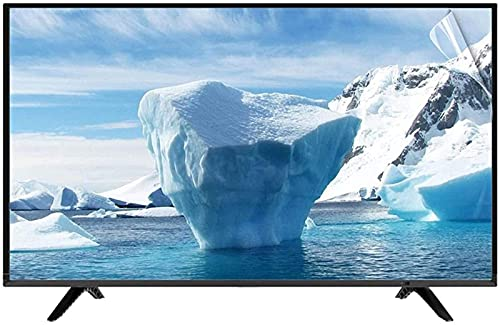 HSBAIS 32-75in Protector de Pantalla de TV, Película Antiarañazos para LCD LED Plasma 3D HDTV Anti-rasguños Filtro Película Anti-deslumbramiento, Reduzca la Fatiga Ocular,60in