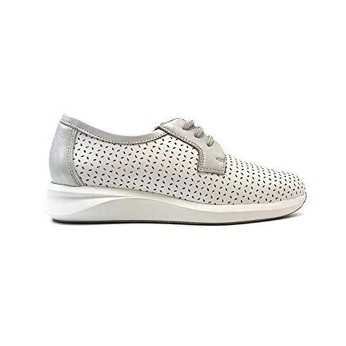 ZAPATISIMOS - Zapato para Mujer de Piel con Plantilla Extraible de Estilo Casual - Diseño y fabricación española