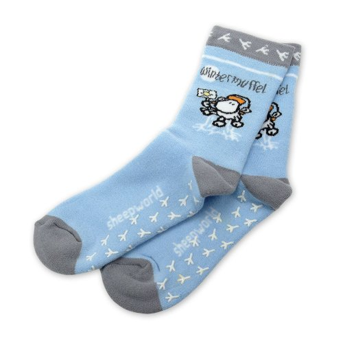 SHEEPWORLD 49410 ABS-Socken M »Wintermuffel«