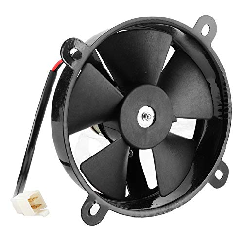 Qqmora Ventilador de enfriamiento de radiador eléctrico práctico confiable y Duradero 12V ATV para Bicicleta de Tierra de Prueba
