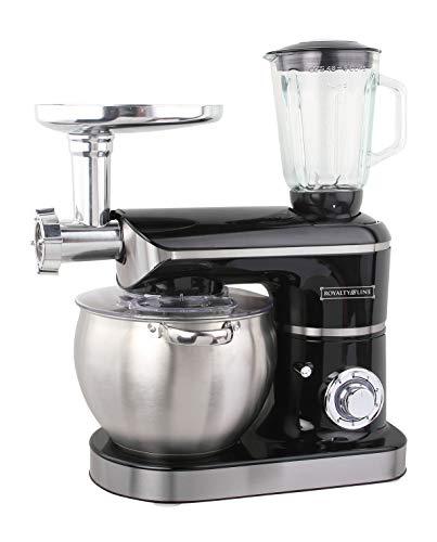 Küchenmaschine 3 in 1 8,5 L 2200 W max. Schwarz Royalty Line