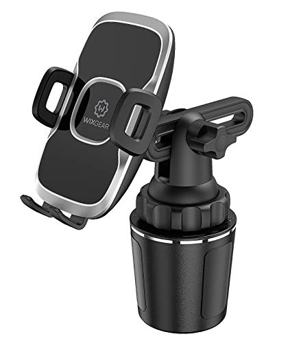 Cup Holder Phone Mount, WixGear Car Cup Holder Phone Mount Adjustable Automobile Cup Holder Smart Phone Cradle Car Mount