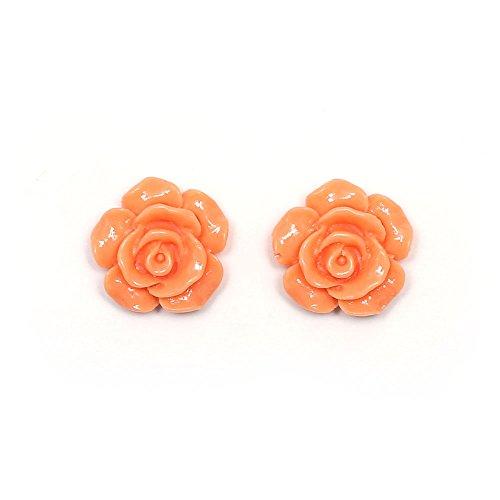 Idin Orecchini a clip - Fiori d'arancio (piccolo) (ca. 13 mm across)