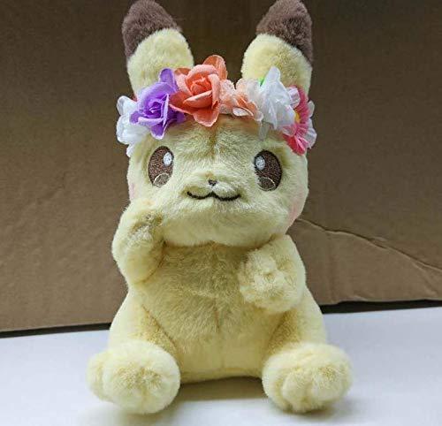xinyawl Plüschtier Blume Pikachu & Eevee Maskottchen Plüsch Spielzeug