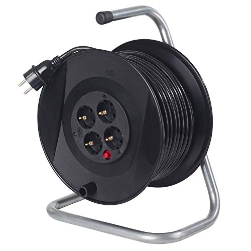 AS Schwabe 11101 - Carrete alargador de cable (50 m, diámetro de...