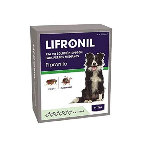 Zotal LIFRONIL FIPRONILO Perros MEDIANOS 6 PIPETAS