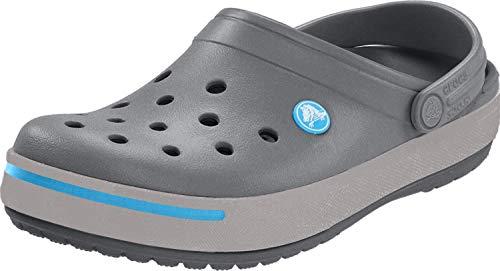 Crocs Crocband - Zuecos con correa unisex, color multicolor, talla 43-44 EU