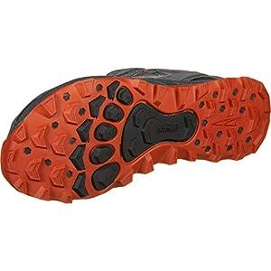 ALTRA Men's AFM1855F Lone Peak 4.0 Trail Running Shoe, Gray/Orange - 10.5 D(M) US