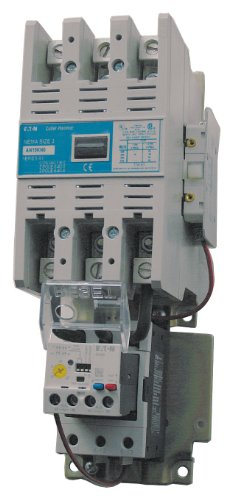 Eaton Electrical - AN19NN0B5E140 - NEMA Magnetic Motor Starter, 240VAC Coil Volts, Overload Relay Amp Setting: 30 to 150A