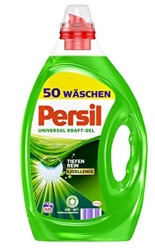Persil Universal Gel, Flüssigwaschmittel, 200 (4 x 50) Waschladungen für hygienische reine Wäsche