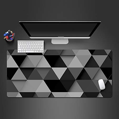 Popular Creativo Prismático Personalidad Alfombrilla de ratón Alfombrilla de ratón de Goma Lavable con Cerradura Avanzada Reproductor de Juegos Alfombrilla de Juguete Grande Almohadilla 900x300x2