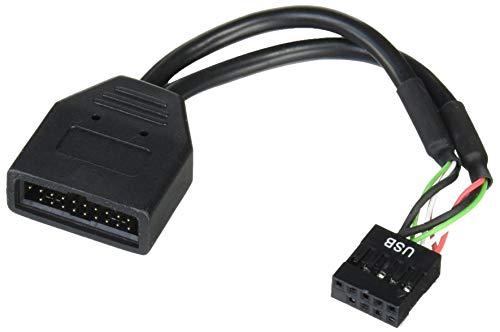 SilverStone G11303050-RT - Internes 19pin USB 3.0 auf USB 2.0 Adapterkabel