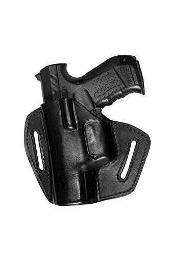 VlaMiTex UXLi Pistolen Leder Schnellziehholster für Röhm RG 96 Roehm Links