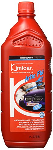 Kimicar 004R100 Artic Flu Liquido Antigelo per Radiatori, -40°C, Rosso, Set di 1