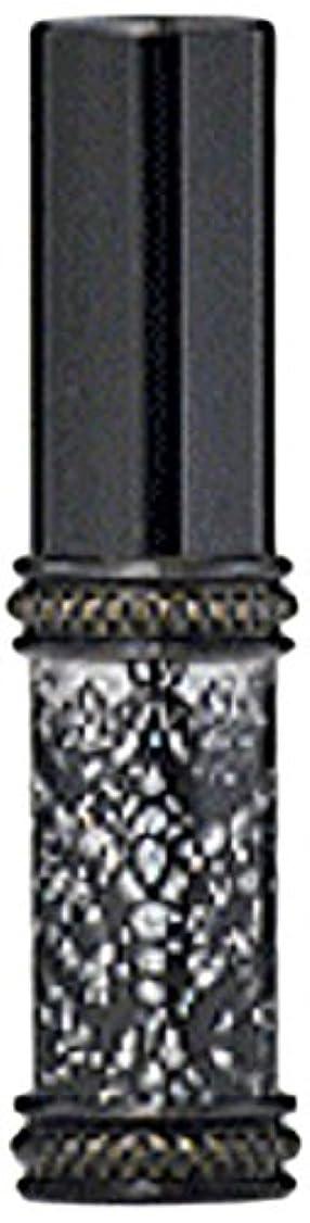 スーパー大声での頭の上ヒロセアトマイザー メタルラメレース 16128 BK (メタルラメレース ブラック)