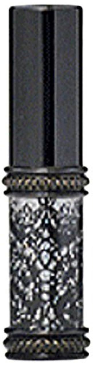 どんなときもめんどりかもしれないヒロセアトマイザー メタルラメレース 16128 BK (メタルラメレース ブラック)