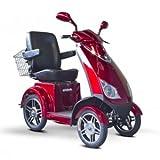Saferwholesale E-Wheels EW-72 Four Wheel Mobility Scooter - 48 Volts - 700Watt Brushless Hub Motor