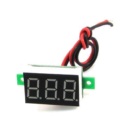 DealMux V20D-T1 0,36 7 segmentos LED 3 Digital-DC 3.2-30V del voltímetro voltaje