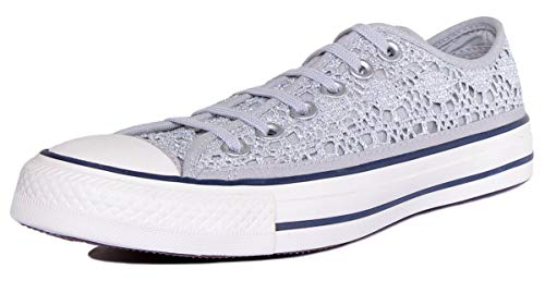 Converse Chuck Taylor All Star Crochet Metallic Sneachers Donna Donna Mod. 556825C 7 37.5