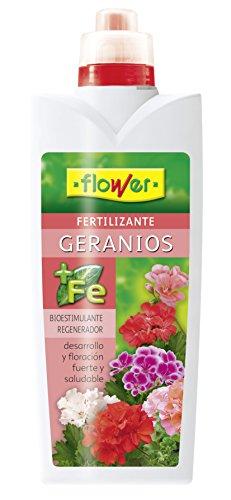 Flower 10511 10511-Abono líquido geranios, 1000 ml, No Aplica, 10.5x6.2x28.5 cm