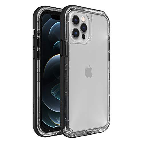 LifeProof Next - sturz und staubsichere Schutzhülle für Apple iPhone 12 / 12 Pro, schwarz/transparent