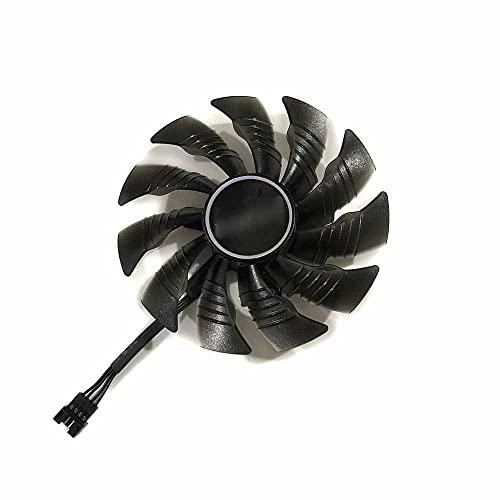 95mm PLD10015B12H Fans de la Tarjeta gráfica for RTX 2060 Super RTX 2070 Super RTX 2080 Super RTX 2080 TI Xtreme (Blade Color : Left Right Fan)