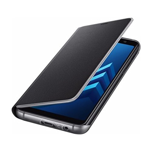 Samsung EF-FA530 Neon Flip Cover für Galaxy A8 Schwarz