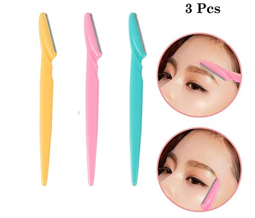 ZEBEX Eyebrow Face and Body Hair Threading/Tweezers and Removal System Tool for Women (Multicolour)
