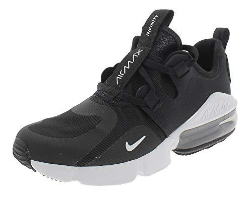 Nike Air MAX Infinity, Zapatillas de Atletismo, Multicolor (Black/White 001), 40 EU