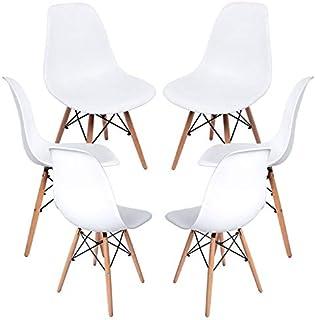 comprar comparacion Regalos Miguel - Packs Sillas Comedor - Pack 6 Sillas Tower Basic - Blanco - Envío Desde España