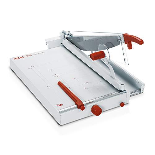 Ideal 1058 Schneidemaschine, Hebelschneider, Papierschneider (356 x 604 mm, Schnittlänge 580 mm, 40 Blatt Kapazität)
