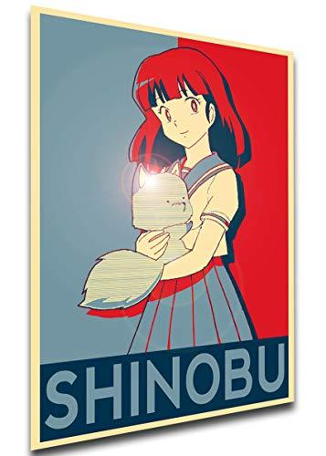 Instabuy Poster Propaganda - Urusei Yatsura - Shinobu Miyake - LL0155 A3 42x30cm