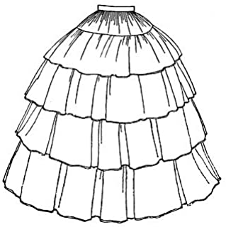 truly victorian walking skirt