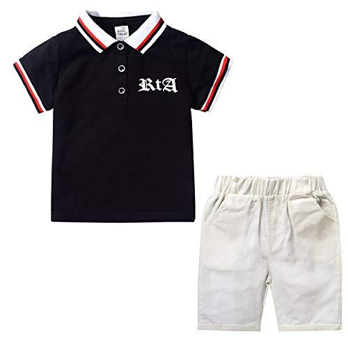 Nwada Conjunto Niño Verano Camisetas Polo y Pantalones Cortos Ropa de Fiesta Traje Deportivo Chandal Disfraz Pijama