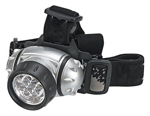 Topex 94 W817 – Lanterne de face, 7 LED, piles AAA